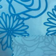 China Design flocking fabric