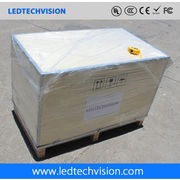 China LED factory, P10 outdoor LED display for TV.