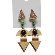 Vogue Crystal Drop Earrings from  Chanch Accessories International Co. Ltd