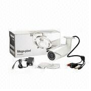China CCTV Megapixel Bullet IP Camera with 2MP, 2.8 to 12mm Varifocal, Waterproof, Day/Night
