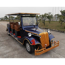 8 person electric classic sightseeing car from  Hebei Leader Imports & Exports Co. Ltd