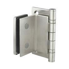 Glass door stainless steel hinge from  Door & Window Hardware Co