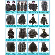 China #4-color Body Wave Human Hair Bundles