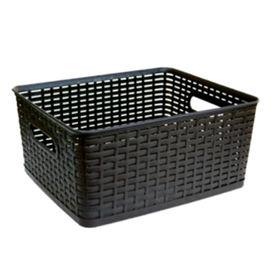 Rattan Like Storage Basket from  L&F Plastics Co. Ltd