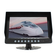 2 channel video inputs car monitor 9inch digital from  Shenzhen Luview Co. Ltd