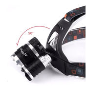 China 1 Cree T6+2 XPE bulbs 2000lm strong LED head lamp/head light, for outdoor illumination