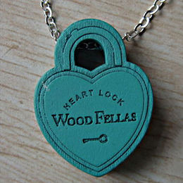 Lady Wood Necklace from  Ningbo Fashion Accessories Factory