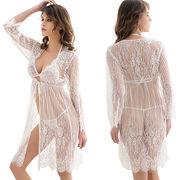 3pcs women's sleeping robes sets from  Meimei Fashion Garment Co. Ltd