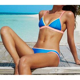 Triangle neoprene bikinis from  Dongguan Yongting Clothing Co., Ltd.