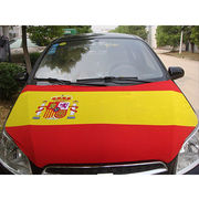 China Customized design and colorful printed car engine hood cover for advertising display