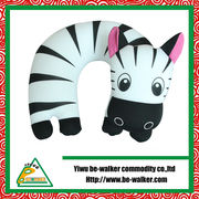 China Outdoor microbeads travel pillow kit with hood
