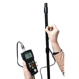 Ultrasonic thickness gauge from  Zhengzhou Nanbei Instrument Equipment Co. Ltd
