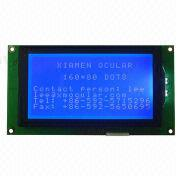 Graphics LCD module from  Xiamen Ocular Optics Co. Ltd