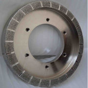 China Sharp and good shape retention electroplated diamond grinding wheel for auto brakes