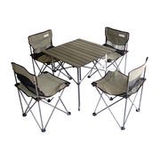 Portable Children's Camping Table and Chair Set from  Jiangsu Sainty Machinery I/E Co. Ltd