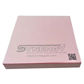 Pink Sticky Notepad from  Kinlux Industrial Corporation