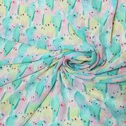 China 100D printed polyester chiffon fabric