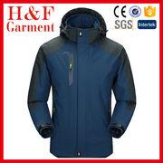 China Men's Sportswear Hooded Softshell Outdoor Raincoat Waterproof Jacket