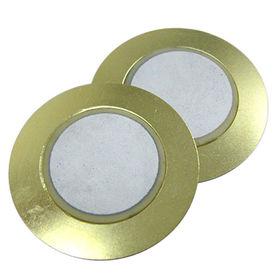 30.5 mm dia Piezo Ceramic Buzzer from  Wealthland (Audio) Limited