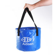 China Custom wholesale 25L collapsible fishing bucket