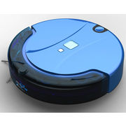China XR210B robotic vacuum cleaner with large LCD touch screen and good cleaning function