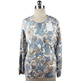 Ladies' knitted pullover from  Hangzhou Willing Textile Co. Ltd