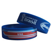 Promotional silicone wristbands from  Iris Fashion Accessories Co.Ltd