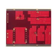 8-layer red solder mask gold-plated PCB