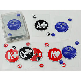Plastic playing cards from  Kinlux Industrial Corporation