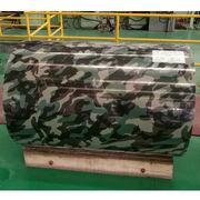 Camouflage prepainted steel coils