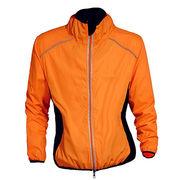 Men's Winter Cycle Jacket from  Fuzhou H&f Garment Co.,LTD