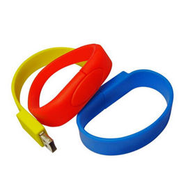 Silicone Bracelet USB Flash Drive from  Memorising Tech Limited