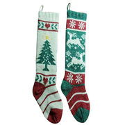 Hot Sale Knitted Christmas Stockings from  Ebolle Fashion Accessories Co. Ltd