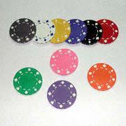 Casino Chips from  Kinlux Industrial Corporation