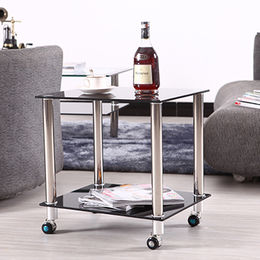 Small sofa side table glass end table from  Langfang Peiyao Trading Co.,Ltd