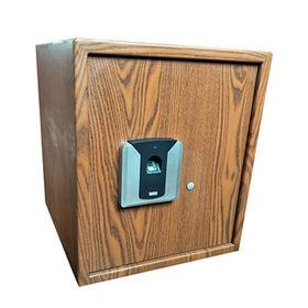 Fingerprint Wood Color Safe from  Jiangsu Shuaima Security Technology Co.,Ltd