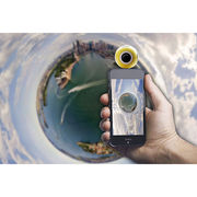 China 360° Panoramic Video Camera for Mobile Phones, Ping Pong-sized, Micro USB or Type-C, Plug and Use