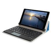 "8"" Bluetooth keyboard leather case from  Shenzhen DZH Industrial Co. Ltd"
