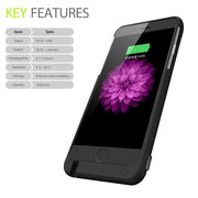 China 7000 mAh Extended Battery Case, Rechargeable Power Bank Charging Case