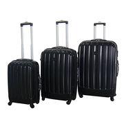 "20/24/28"" 3-piece PC luggage set from  Shanghai Alliance Glory International Co. Ltd"
