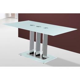 Hot selling glass dining chair table from  Langfang Peiyao Trading Co.,Ltd