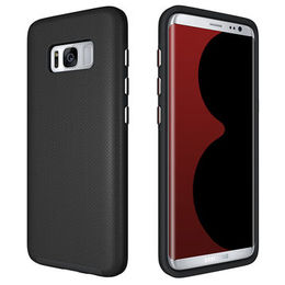 Dual layer shock resistant armor case for Samsung from  Dongguan Afang Plastic Products CO.,LTD