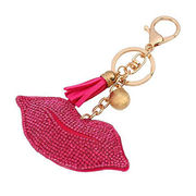 Exquisite Heart Keychains Paved from  Chanch Accessories International Co. Ltd