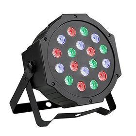 PL-60 18pcs*1W RGB LED Slim Par Light from  Guangzhou Xinyu Stage Lighting Installation Factory