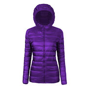 Ultralight down winter jacket from  Fuzhou H&f Garment Co.,LTD