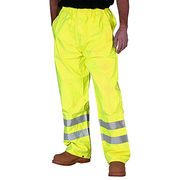 High visibility safety work pants from  Fuzhou H&f Garment Co.,LTD