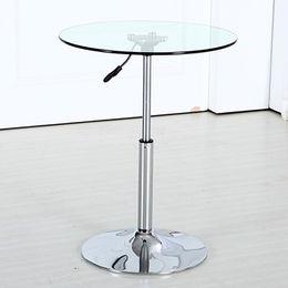 Modern Design Glass Bar Table from  Langfang Peiyao Trading Co.,Ltd