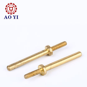OEM Brass CNC Machined Parts from  Dongguan City Aoyi Hardware Co. Ltd