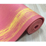 China 2 tone yoga mat, PVC, 11P free, 6mm, REACH, CP65 test, gradient mat