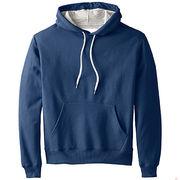 Men blank supreme hoodies outwear sweatshirt from  Fuzhou H&f Garment Co.,LTD